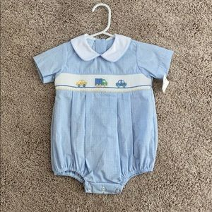 NWT Petit Bebe Baby Boy Outfit (6mths)